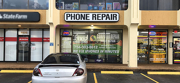 cell phone repair hollywood fl